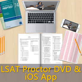 LSAT Proctor DVD and iOS App